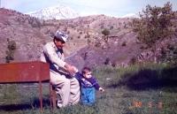Family visit to Kurdistan, summer 1995