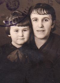 Karolina s matkou