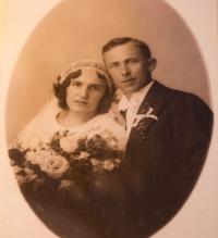 Svatební foto rodičů