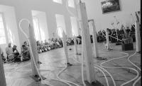 Instalace Victora Wentinka a Horsta Rickelse v klášteře Plasy, 1993