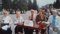 Political prisoners from Magadan, Anton Stepanovich Kostyuk on the right
