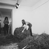 Akce Seno-sláma, Galerie Václava Špály, Praha, rok 1969