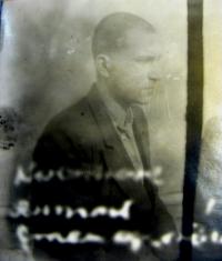 Photograph of Anton Stepanovič from interrogations