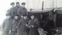 Prisoners in a labor camp in Magadan, 1956