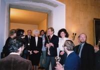 Hana Junová, Olga Havlová, Václav Havel, Markéta Junová, World Family Therapy Congress, 1991