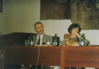 With Vladimír Řehan, Psychology days, Olomouc