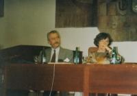 With Vladimír Řehan, Psychology days, Olomouc