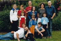 With children and their families, 2007