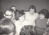 Lobeč days - psychotherapy training, 1968 or 1969