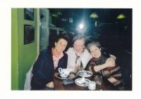 With Táňa Fischerová and Věra Roubalová