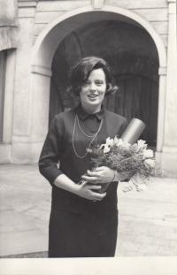 PhD graduation ceremony, 1968