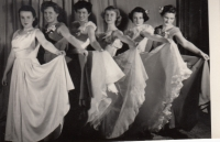 Ceremonial opening dance at a builders ball, 1955