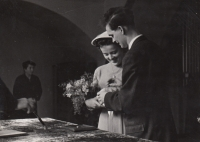 Hana and Jaromír Junovi - wedding picture
