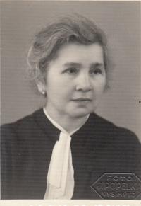 Hermína Vohryzková - grandma