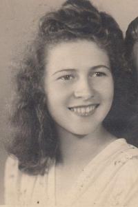 Anna Bařinová, dobová fotografie