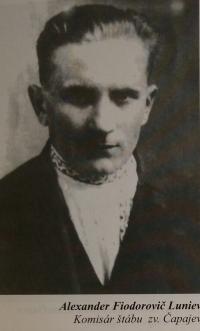 Alexander Fiodorovič Luniev, historical photography