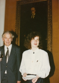 Jaromír Juna and Markéta Junová, World Family Therapy Congress, 1991