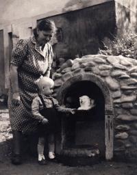 Jiří Lexa, Ostrava-Stará Bělá, 1943