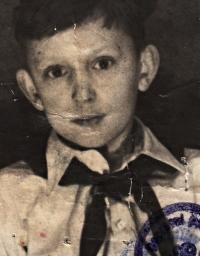 Jiří Lexa, cca 1949