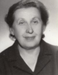 Mom Ludmila Mátlová, neé Uherová