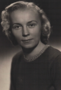 Olga, probably around the year 1947