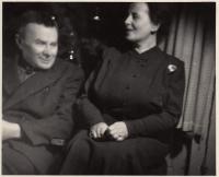 Ota Vohryzek and Anna Smržová, née Vohryzková