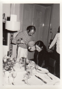 Petr Skoumal and Táňa Fischerová