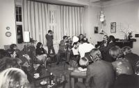 House concert Duel of the Masters, the Hopakaju quartet