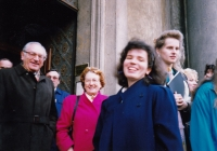 Stan Flache, Edith Morgan, Markéta Junová, World Family Therapy Congress, 1991