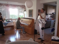 House concert on the occasion of Hana Junová's 70th birthday