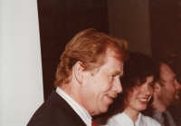 Václav Havel and Markéta Junová, World Family Therapy Congress, 1991