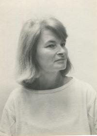 Milica Drgoňová - dobová fotografia
