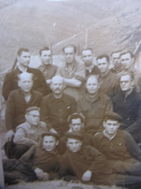 Prisoners from a labor camp in Magadan