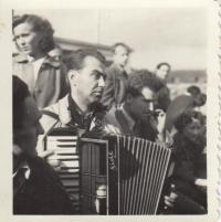 Svitáček, FAMU trip, 1952