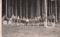 Scouting camp