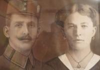 Parents of Božena Agelová
