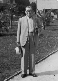 Richard Svaček, otec Anny Musilové, Brno asi 1981