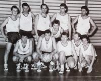TJ Jičín basketball team