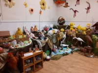The Gallery prepared for the Easter exhibition 2020, which did not take place because of the Coronavirus pandemic