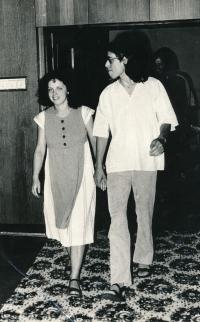 Civil wedding at the Malvazinky community centre, 1982