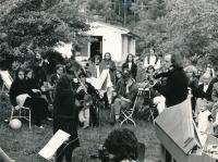 A wedding reception, 1982