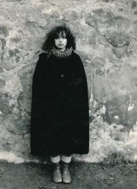 Terezie at Kampa, 1981