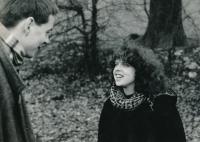 Terezie with Viktor Karlík, 1981