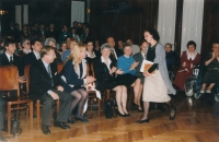 The Olga Havel Award - an award for an outstanding implementation of several projects (Czech Union of Visually Challenged), 1997