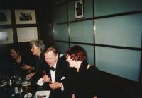 Lidmila Lamačová s Václavem Havlem, kolem roku 2000