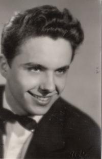 Ivan Kalina, high school graduation, Pilsen, 1960