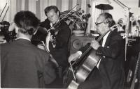 House concert Duel of the Masters, Hopakaju quartet and Miloš Sádlo