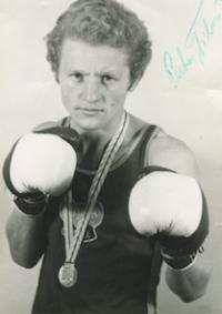 Tibor Puha v časoch, keď boxoval.