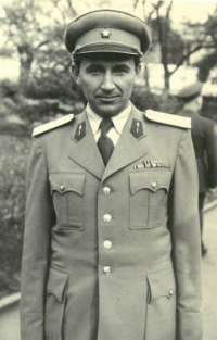 After the war, Vasil Timkovic accepted an offer to stay in the Czechoslovak army
