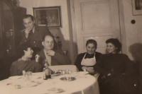 Vasil Timkovic with his family in Zakarpattian Ukraine